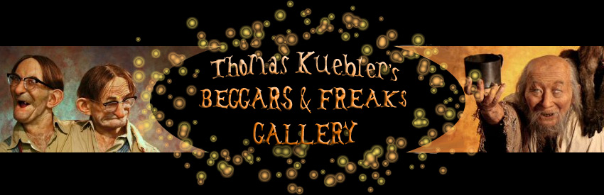 BEGGARS AND FREAKS - Thomas Kuebler - Hyperrealistic Sculptor